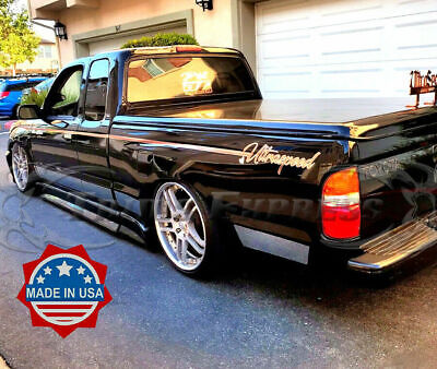$165.84 • Buy Fit:95-04 Toyota Tacoma Extended Cab LTD Short Bed Rocker Panel Trim NF 10Pc 5