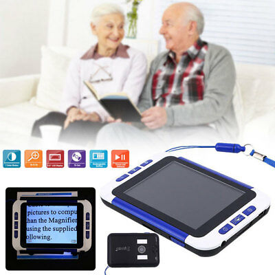 3.5  LCD F Handheld HD Digital Low Vision Reading Aid Electronic Video Magnifier • 50.33£