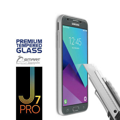 AU3.99 • Buy Tempered Glass Screen Protector Guard For Samsung Galaxy J7 Pro J730