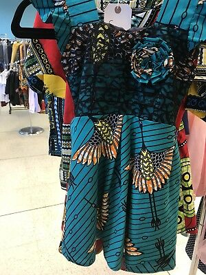 African Print Dress Kids Size 2-3 Years • 12£
