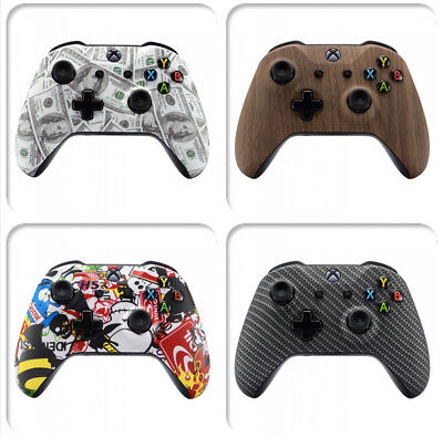 For Xbox One X One S Controller Front Housing Shell Repair Cover Soft Touch Grip • 15.78$
