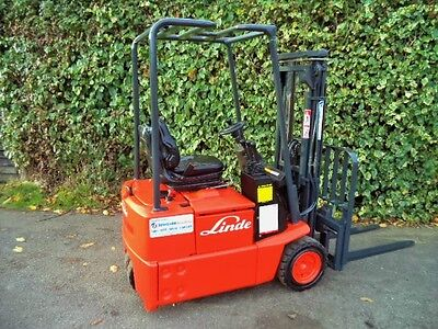 £4250 • Buy Linde Electric Counterbalance Forklift Truck.