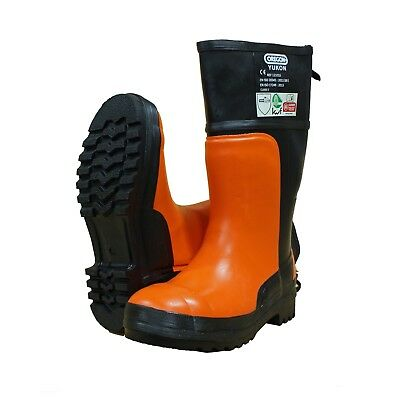 Brand New Oregon Chainsaw Boots Yukon Ii Class 3 Size 44 Uk 9 1/2 • 49.95£