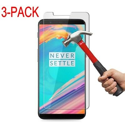 AU3.14 • Buy 1-3X New9H Premium Clear Tempered Glass Screen ProtectorGuard Film For OnePlus5T
