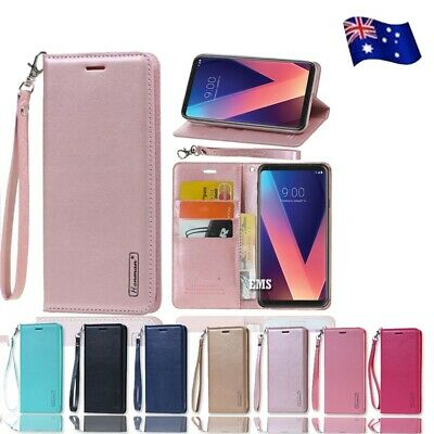 AU11.49 • Buy For LG V40 ThinQ | LG V30+ Plus Hanman Luxury Leather Flip PU Wallet Case Cover