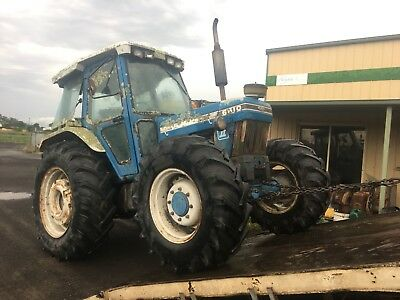 AU99 • Buy Tractor Ford 6610 Fwa  Wrecking