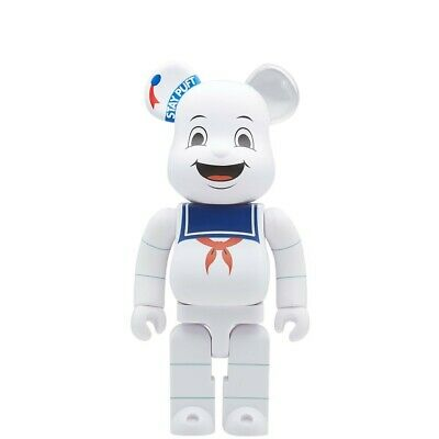 $135 • Buy Medicom BE@RBRICK Ghostbusters Stay Puft Marshmallow Man 400% Bearbrick Figure