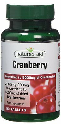 £10.17 • Buy Natures Aid Cranberry 200mg 90 Tablets