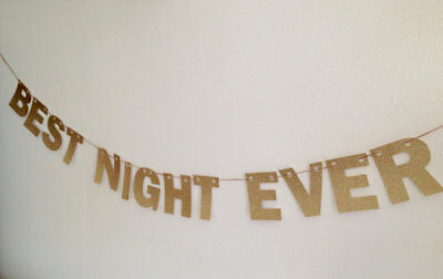 £18.82 • Buy Best Night Ever Banner, New Years Eve Party Decor, Bachelorette Party Decor
