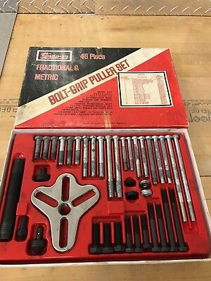 $200 • Buy Snap On 48 Piece Bolt Grip Puller Set