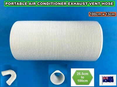 AU35.72 • Buy Portable Air Conditioner Spare Parts Exhaust Pipe Tube Vent Hose (100cmx13cm)