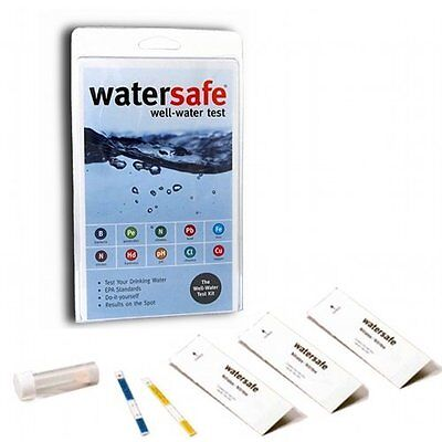 £23.80 • Buy Watersafe Well Water Drinking Test Kit | All-in-One Test Kit