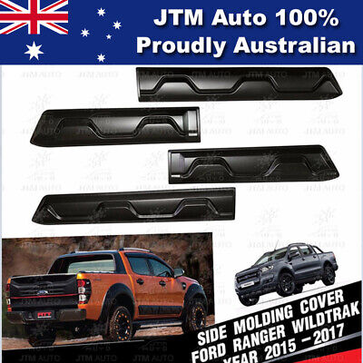AU157.17 • Buy Side Door Body Molding Cladding Trim To Suit Ford Ranger PX PX2 PX3 2012-2019