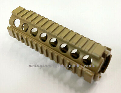 $16 • Buy M4A1 RIS Rail In Tan For Mini Model 1:2.05 Scale (For Display Only)