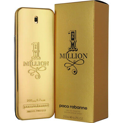 AU149.95 • Buy 1 Million By Paco Rabanne 200ml Edts Mens Fragrance