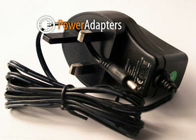 5v Gear4 Streetparty  Size 0  5v UK Power Supply Adapter Mains Cable Lead • 10.49£
