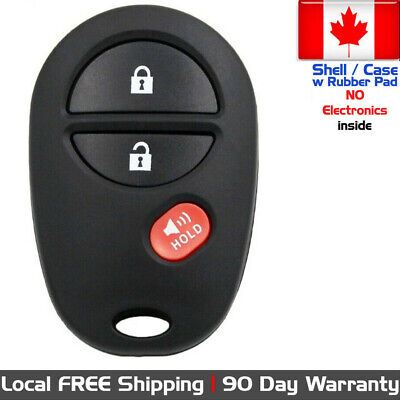 $ CDN12.95 • Buy 1x New Replacement Keyless Remote Key Fob For Toyota GQ43VT20T - Shell Only