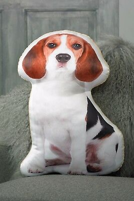 Beagle Cushion Dog Shaped Gift/Present • 19.95£