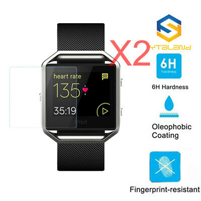 $ CDN3.91 • Buy 2Pcs 6H Soft Nano Explosion Proof Soft Screen Protector Film For Fitbit Ionic