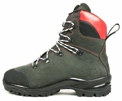 Brand New Oregon Fiordland Leather Chainsaw Safety Boots Class 2 - Various Sizes • 190£
