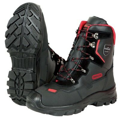 £73 • Buy Oregon Yukon Class 1 Leather Chainsaw Protective Boots - Various Sizes