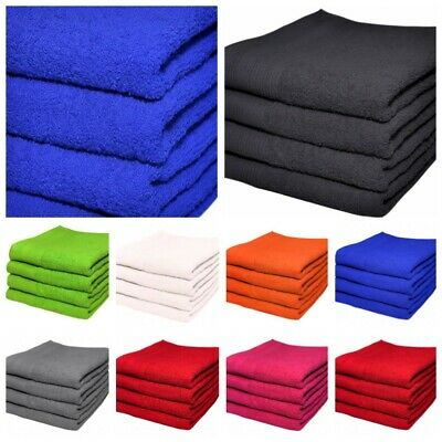 Set Of 2 & 4 Large Hand Towels Luxuriously Soft 50x90cm 100% Cotton Bath Gift • 6.95£