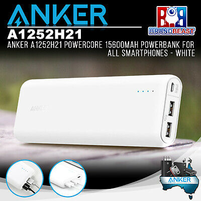 AU77 • Buy Anker A1252H21 PowerCore 15600mAh Powerbank For All Smartphones - White