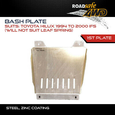 AU189 • Buy Roadsafe 4WD Bash Plate For Toyota Hilux 1994-2000 IFS - 1ST PLATE (WILL NOT SUI