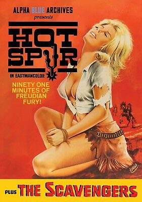 Lee Frost's Hot Spur / The Scavengers Exploitation Western Double Feature • 14.25£