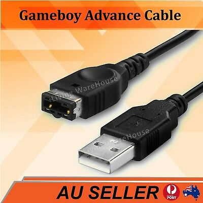 AU5.25 • Buy GameBoy Advance GBA SP USB Charger Charging Power Cable Cord For Game Boy 1.2m