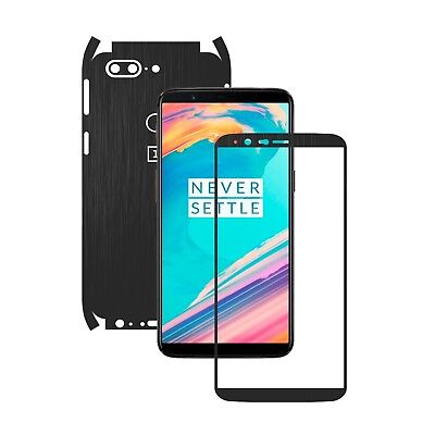 AU14.07 • Buy BUY 1 GET 1 FREE Skin,15 Colors Full Body Carbon Decal,Case Wrap For OnePlus 5T