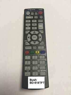 Replacement Remote Control For Bush Bluetooth DAB Micro System BD-618TFT • 9.99£