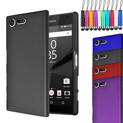 AU6.62 • Buy For Sony Xperia XZ1 Compact - Armour Hard Shell Case Back Cover + Stylus