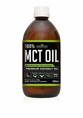 Natures Aid 100% MCT Oil - 500ml • 14.24£
