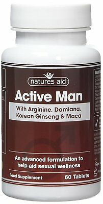£8.46 • Buy Natures Aid Active Man 60 Tablets