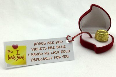 Valentines My Last Rolo Romantic Special Novelty Gift Present For Him/Her Psibox • 7.95£