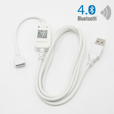 $8.59 • Buy Bluetooth Controller USB Cable For RGB LED Strip Light Smart Phone Control Strip