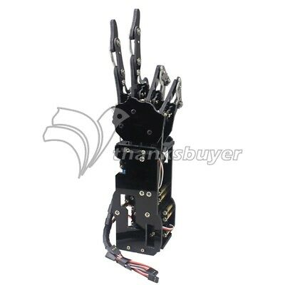 Right Hand Robot Mechanical Arm Claw Humanoid Five Fingers With Servos Assembled • 100.50£