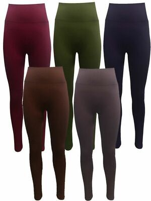 Womens Yoga Fitness Leggings Running Gym Stretch Sports Pants Trousers Plus Size • 8.49£
