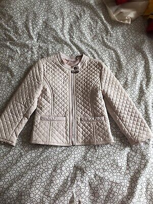 Girls Ido Designer Leather Jacket Age 24months • 15£