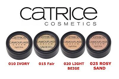 £4.99 • Buy CATRICE Camouflage Cream Concealer High Coverage Long-Lasting