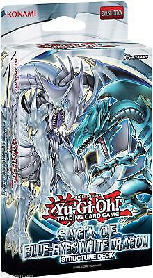 YuGiOh! Saga Of Blue-Eyes White Dragon UNL Ed Structure Deck - Cards Only-No Box • 11.99£