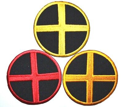 £1.69 • Buy Embroidered X MEN Logo Suit Marvel Comic Movie Iron On Patch Badge Logo 8.5 DIA