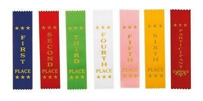 £1.40 • Buy Competition Ribbons Horse Equestrian Dog Show Achievements 1st - 6th Place