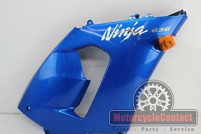$45.13 • Buy 05 06 Zx6r 636 Mid Side Fairing Cowl Right Oem Blue