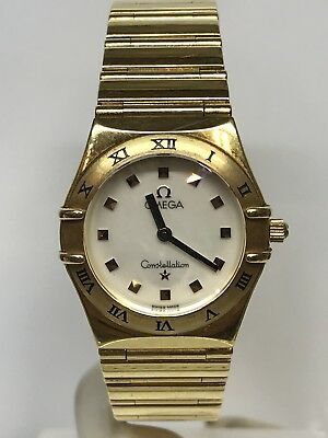 Watch Omega Costallation Quartz Lady Gold 18ct 25mm On Sale New • 3,656.59£