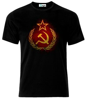Grunge Flag Soviet Union USSR  Russia Russian Federation T-Shirt  • 9.90£