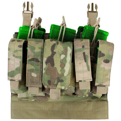 Condor VAS Recon Mag Pouch Army MOLLE Webbing Panel Military Tactical MultiCam • 48.95£