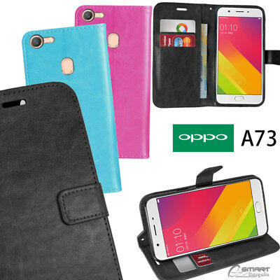 AU6.99 • Buy Wallet Flip Card Slot Stand Case Cover For Oppo A73 / Oppo F5