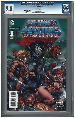 $112.50 • Buy He-Man And The Masters Of The Universe #1 CGC 9.8 (6/13) DC White Pages